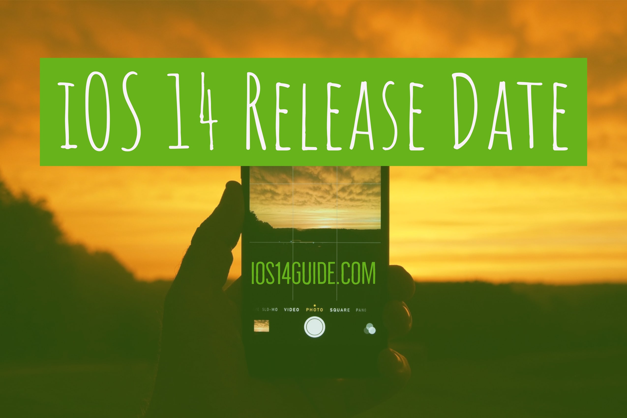 iOS 14 Release Date